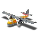 Die Cast Sonic Water Bomber Plane (Hong Kong)