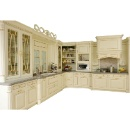 Solid Wood Kitchen Cabinet (China)
