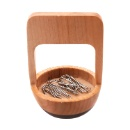 Wooden Paper Clip Holder (Hong Kong)