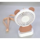 Rechargeable Handheld LED USB Fan (Hong Kong)