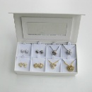 Necklace Earrings Traver Sets with Gift Box  New TOP (China)