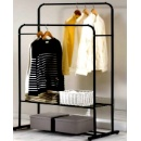 Double Clothes Rack with 2 Layers Storage (Hong Kong)