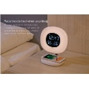 Bedside Lamp with Smartphone Wireless Charging (Hong Kong)