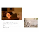 RGB LED Colorful Light Bluetooth Speaker with LED Night Lamp (Hong Kong)