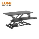 ELECTRIC SIT-STAND DESK CONVERTER WITH KEYBOARD TRAY DECK (STANDARD SURFACE) (Mainland China)