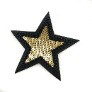 Sequin Embroidery Patch with bead (Hong Kong)