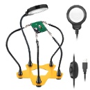 Helping Hands Soldering Magnifier Station Third Hand Tool For Hobby (China)