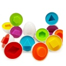 Toddler Games Egg Toy ( 1 Set 6 Pieces) (Hong Kong)