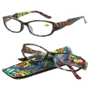 Fashionable Reading Glasses With Pouch (China)