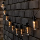 Solar Vintage Edison Bulb String Light (Mainland China)