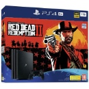Sony PS4 PlayStation Pro 1TB Console and Red Dead Redemption 2 Bundle Wi-Fi Game (Mainland China)