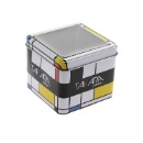 Square Shape Tin Can with Window (China)