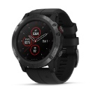 Garmin fenix 5X Plus 51mm Sapphire Multisport GPS Watch Black/Black Band (China)