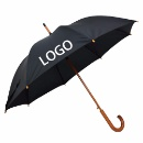 "23"" Wood Handle Wood Shaft Straight Umbrella (Mainland China)"