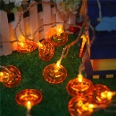 Waterproof Pumpkin LED String Lights (Hong Kong)