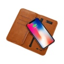 5000mAh Leather Wireless Charger Wallet (Mainland China)