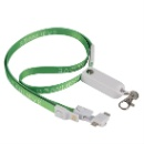 3 in 1 Customize Lanyard Keychain USB Charging Data Cable (China continental)