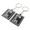 Custom Promotional Gifts Rubber PVC Silicone Keychain (Mainland China)