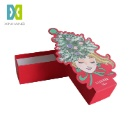 Custom Christmas Gift Chocolate Cardboard Packaging Box (Mainland China)