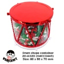 Drum Shape Container (Hong Kong)