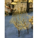 Copper Grass Leaf Chair (Mainland China)