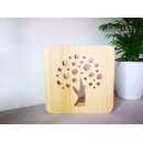 Tree of Life Wood Personal LED Memorial Lighting (Mainland China)
