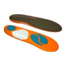 Deep Heel Cup with 3D DAT and Gel Dot Cushioning Insoles (Hong Kong)
