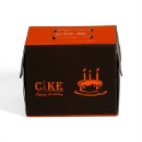Disposable Paper Packaging Cardboard Cake Box  (Mainland China)