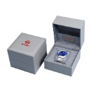 Handmade Grey Color Packaging Luxury Watch Box for Man (Mainland China)