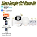 GSM Wireless WIFI Smart Home Security Alarm Kit (Mainland China)