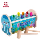 Baby Educational Play Pounding Game Sea Animal Wooden Hammer Toy for Kids (Mainland China)