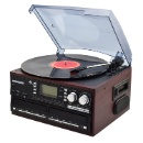 All in One Turntable Player with Dual CD Player And CD Burner (Mainland China)
