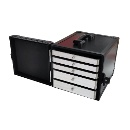 Aluminum Jewelry Case with Drawers (Hong Kong)