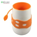 Ceramic Coffee Mug With Silicone Cup Sets (Hong Kong)