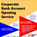 Corporate Bank Account Opening Service (Hongkong)