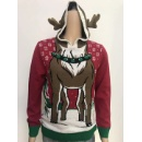 Christmas Sweater - Reindeer with Hat (Hong Kong)