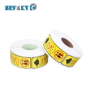 Warning Synthetic Paper Self Adhesive Vinyl Labels Stickers (Mainland China)