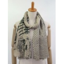 Double Side Printed Shawl (China continental)