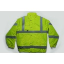 Fluo-Yellow Jacket with Foldaway Hood in Collar (Mainland China)