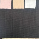 Cotton Polyester Irregular Elastic Rib Fabric (Mainland China)