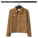 Ladies' Faux Suede Jacket (Mainland China)