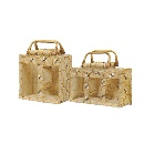 Jute printed packaging bag for confectionery and jars  (India)