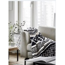 Cotton Cable Knitted Warm Cozy Throw Blanket for Couch Chairs Bed Beach (Mainland China)