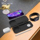 MFI PD18W Wireless Charger Power Bank for iPhone AirPods pro iWatch (Mainland China)