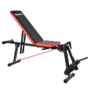 OneTwoFit - Adjustable Folding Dumbbell Bench Home Weight Lifting Gym Sit Up Exercise Bench (Hong Kong)