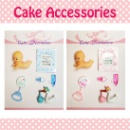 Cake Decoration Topper Set (Hong Kong)