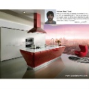 CRUISER  Red Lacquer Kitchen Cabinet (China)