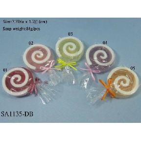 Soap in Lollipop Design (Hong Kong)