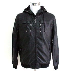 Men's Imitation Leather Jacket (China)