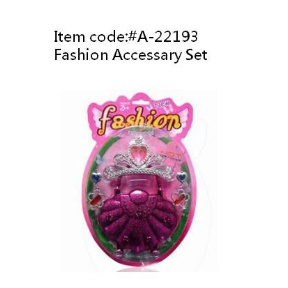 Toy Fashion Accessory Set (Hong Kong)